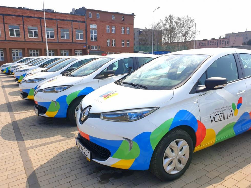 Czterdzieści Renault ZOE wbarwach Vozilli już jeździ po Wrocławiu