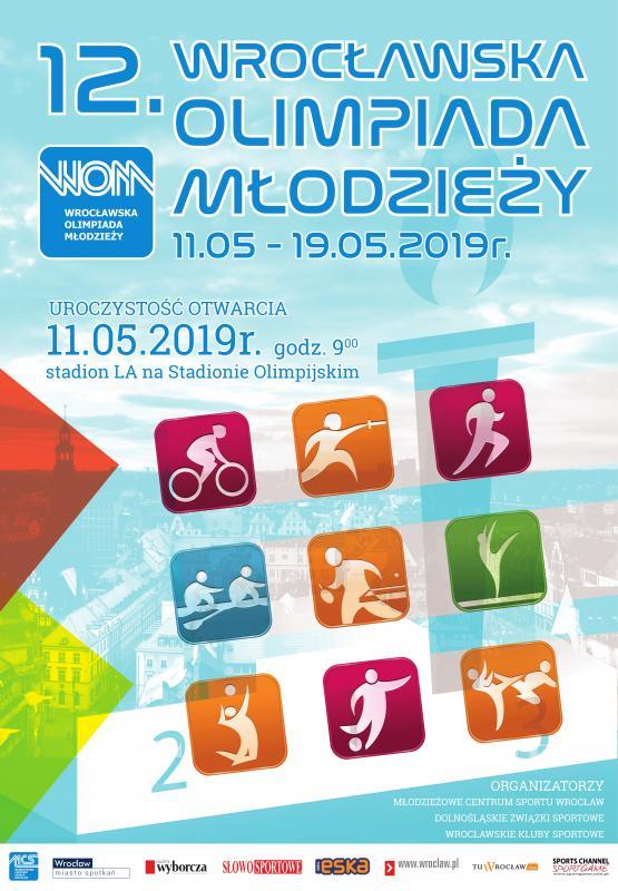 12. Wrocławska Olimpiada Młodzieży – dwa tysiące młodych sportowców powalczy omedale