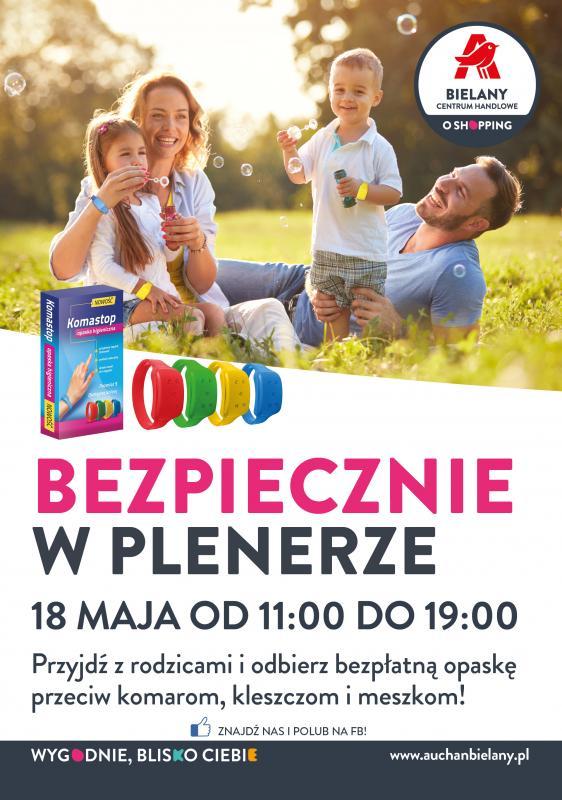 Wiosenne atrakcje dla dzieci wCentrum Handlowym Auchan Bielany