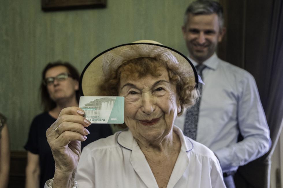 Wręczenie Szmaragdowych Kart Seniora