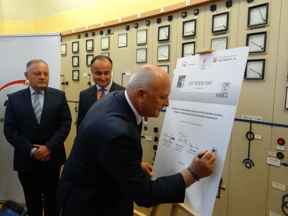 Nowe życie elektrociepłowni, dzięki największej inwestycji whistorii gminy Siechnice
