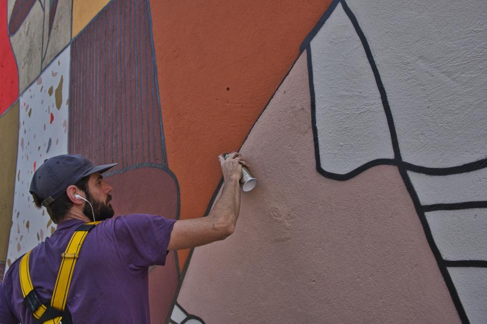 We Wrocławiu powstał mural wprezencie odholenderskiej Bredy