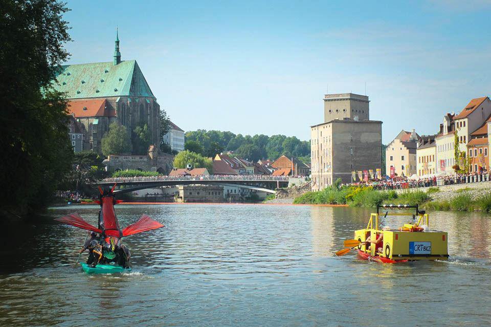 Spływ na byle czym 2019 Görlitz/ Zgorzelec