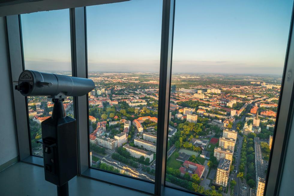 Sky Tower – najwyższa atrakcja turystyczna Wrocławia