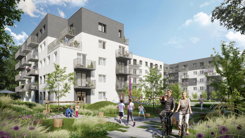 Echo Investment rusza zprojektem mieszkaniowym przy ul. Mińskiej