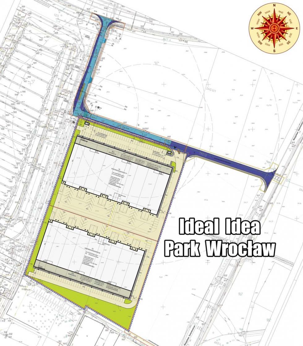 Przy lotnisku powstanie Ideal Idea Park Wrocław