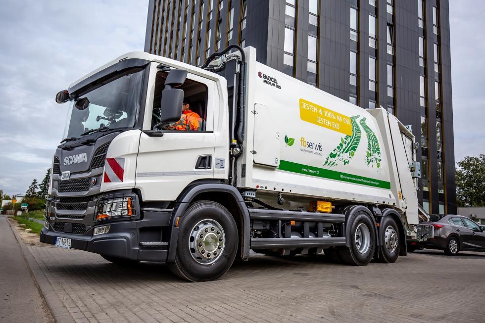 Ekologiczne śmieciarki odbiorą odpady weWrocławiu