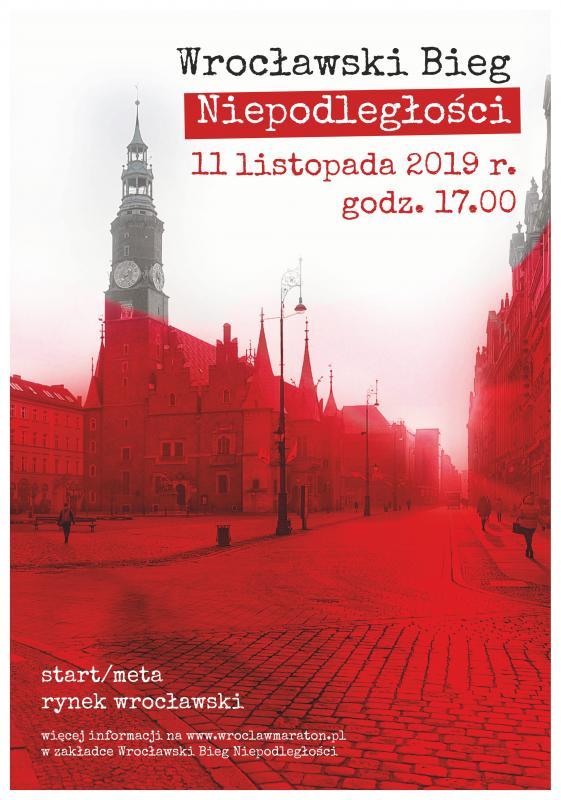 Ostatnie dni zapisów internetowych na Wrocławski Bieg Niepodległości