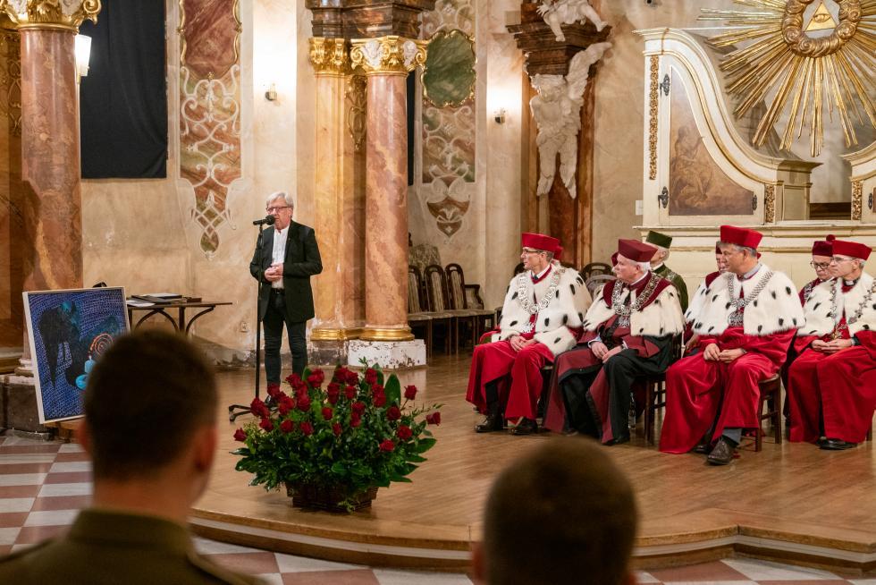 Święto Nauki Wrocławskiej 2019 – nagroda dla Andrzeja Kosendiaka