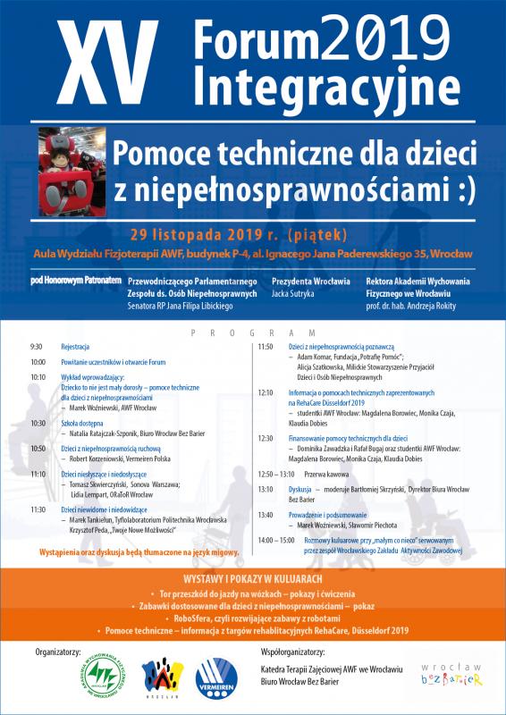 V Forum Integracyjne AWF Wrocław