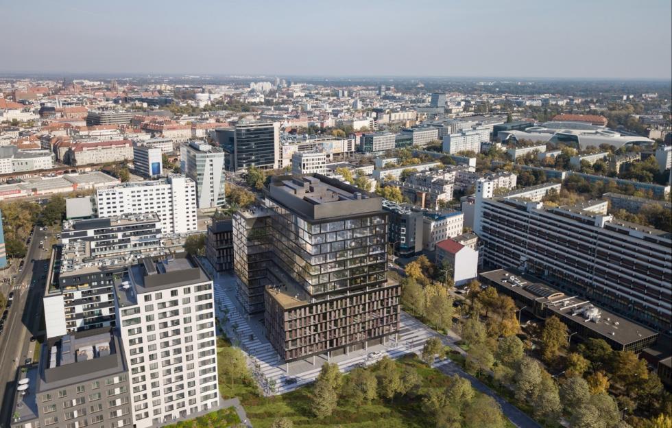 W centrum stanie biurowiec MidPoint71