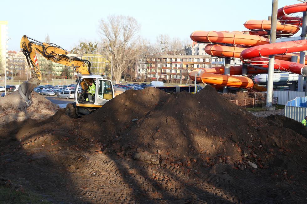 Ruszyła rozbudowa wrocławskiego Aquaparku