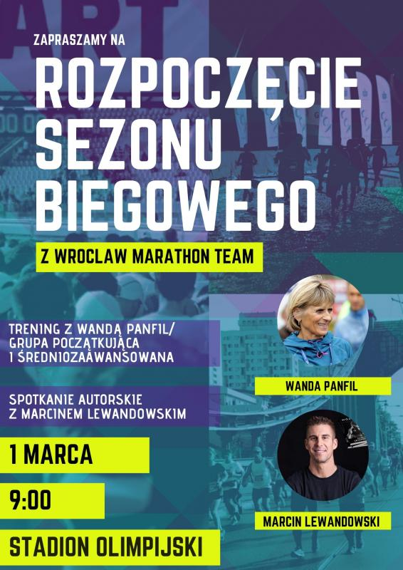 Rozpoczęcie sezonu biegowego zWroclaw Marathon Team 2020
