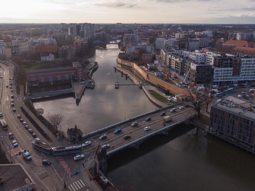 Rusza przebudowa mostów Pomorskich