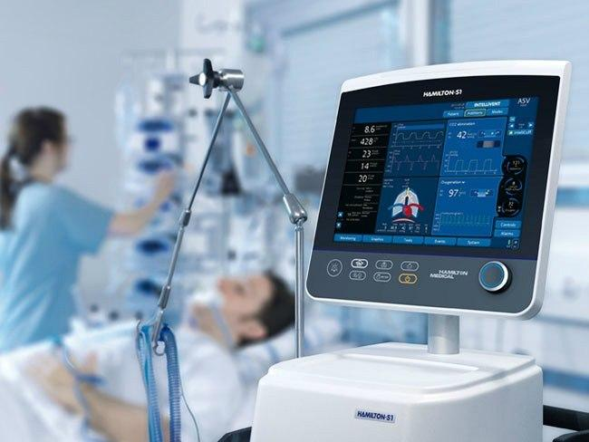 Wszpitalach kilkadziesiąt procent wolnych respiratorów iok. 10 tys. wolnych miejsc