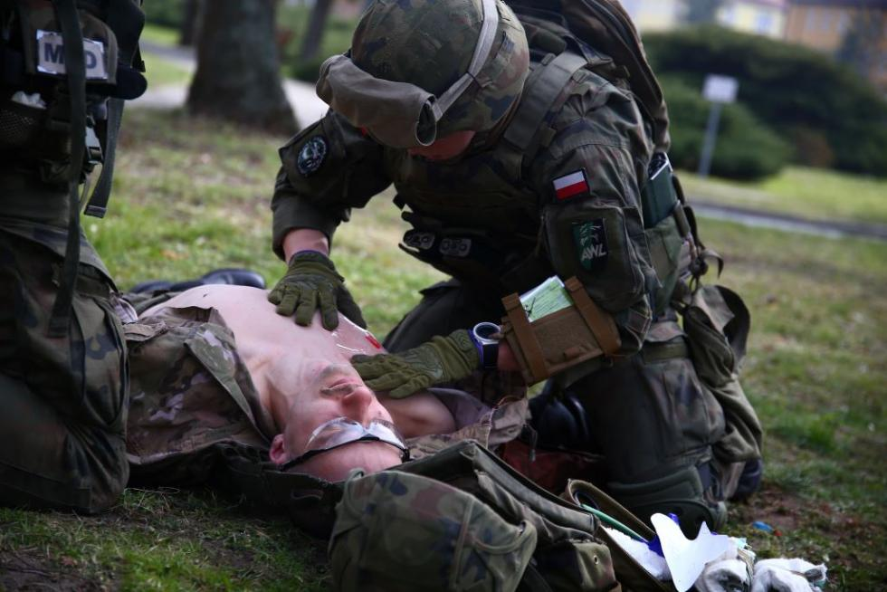 Tactical Combat Casualty Care we Wrocławiu