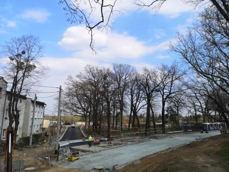 Zmiana terminu rozpoczęcia przebudowy pętli na Osobowicach