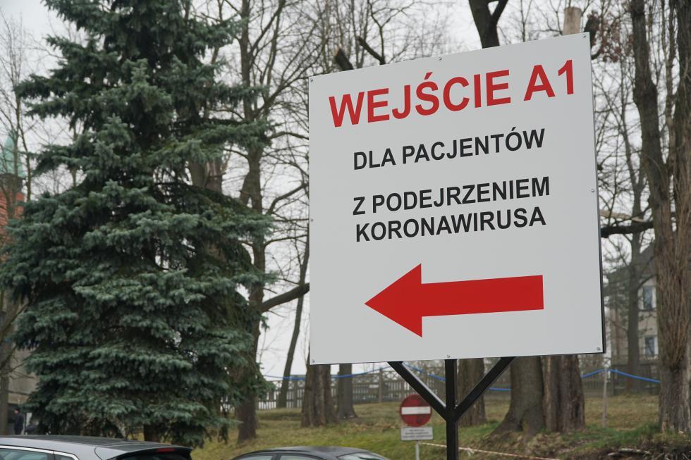 Testy na koronowirusa wbolesławieckim szpitalu