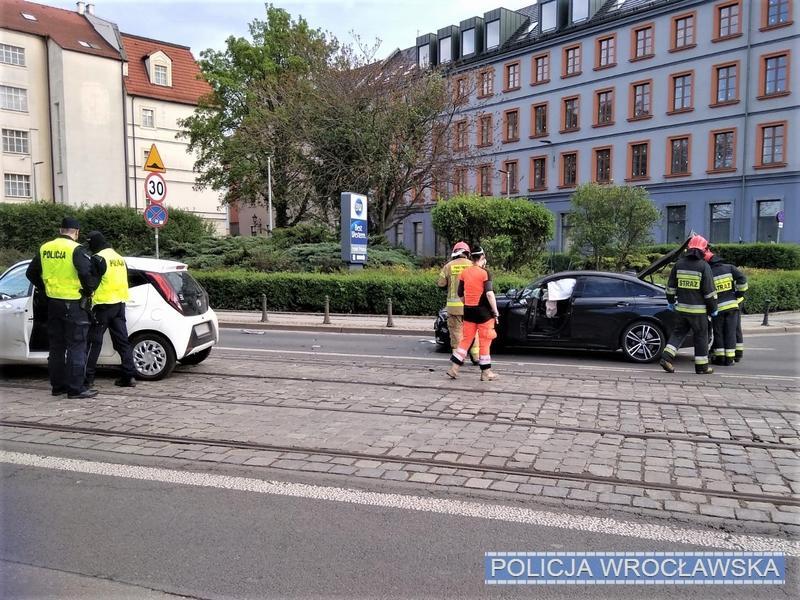 Informację ozdarzeniu policjanci otrzymali od… samochodu