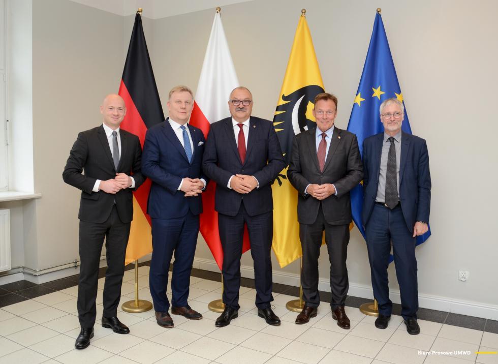 Marszałek Cezary Przybylski spotkał się zwiceprzewodniczącym Bundestagu