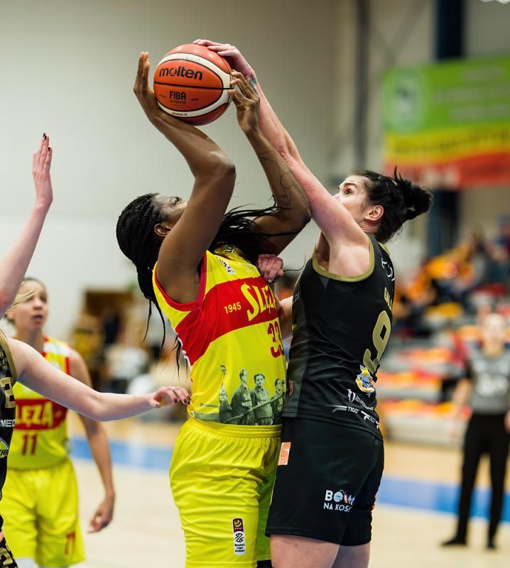 Ewelina Gala pierwszą nową koszykarką Ślęzy Wrocław