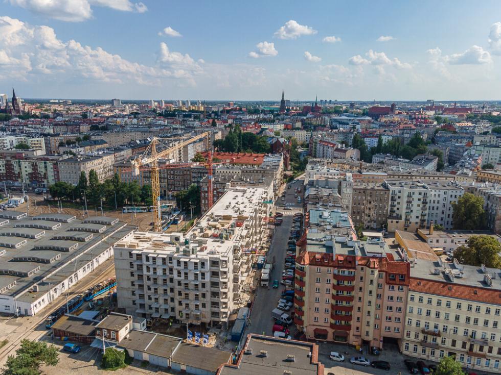 Nowa Zajezdnia Wrocław na ostatniej prostej