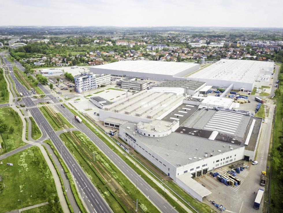 Nowoczesne Centrum Logistyczne BSH wsercu Wrocławia