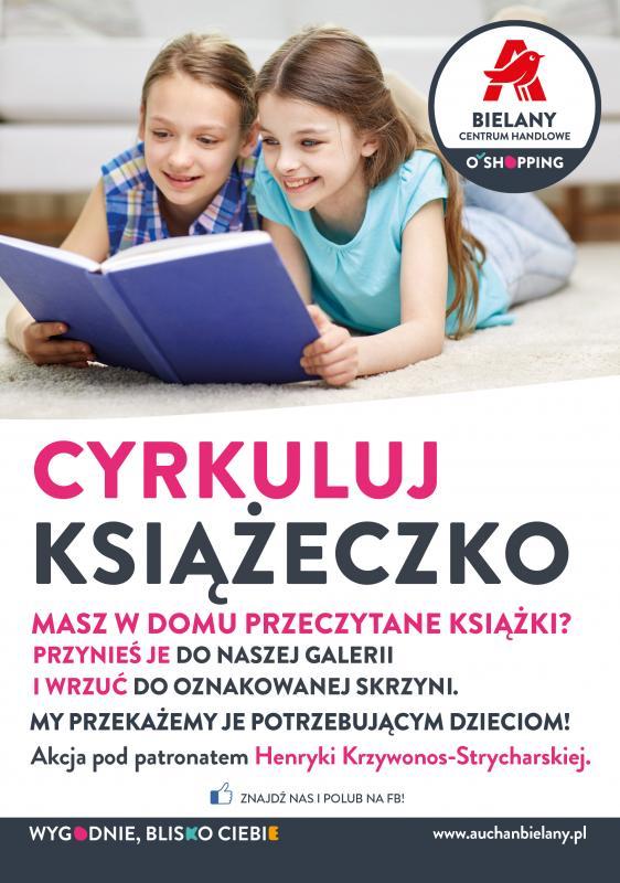 Przynieś książkę, podaruj radość dzieciom