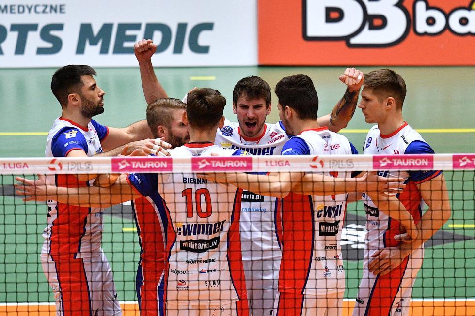 Cenne zwycięstwo iprzełamanie siatkarzy eWinner Gwardia Wrocław