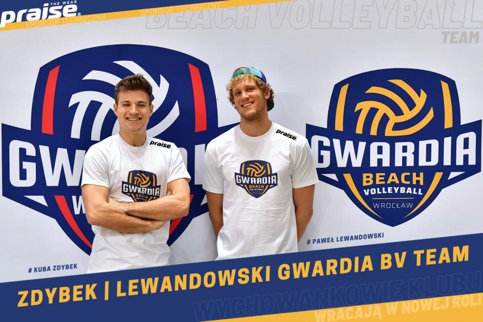 Zdybek iLewandowski wGWR Beach Volley