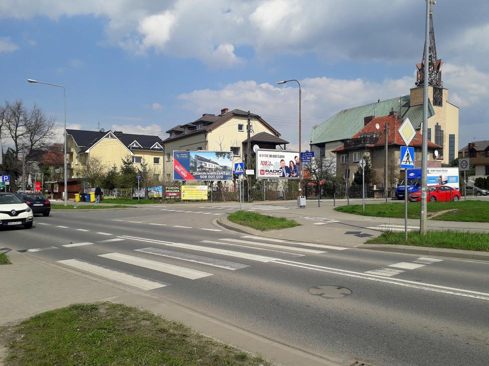 Budowa azylu dla pieszych na ul. Grota – Roweckiego przy ul. Pawła Jasienicy