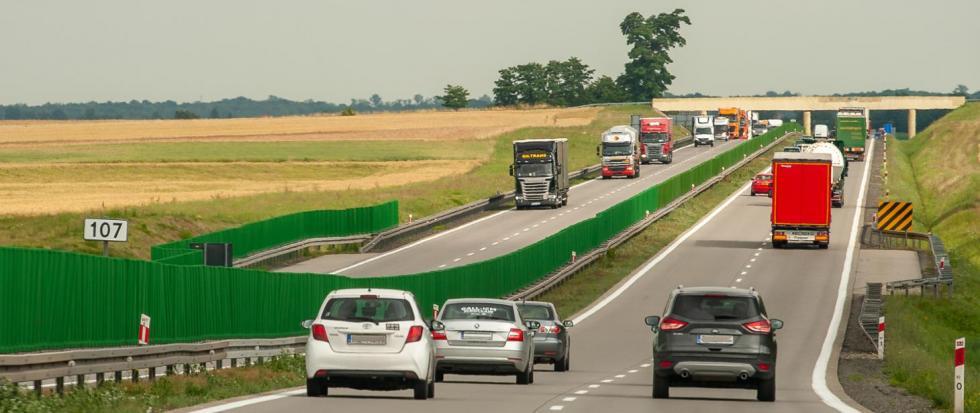 Gdzie wPolsce ciężarówki nie mogą wyprzedzać na autostradzie?