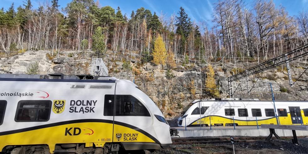 Zmiany wrozkładzie jazdy Kolei Dolnośląskich