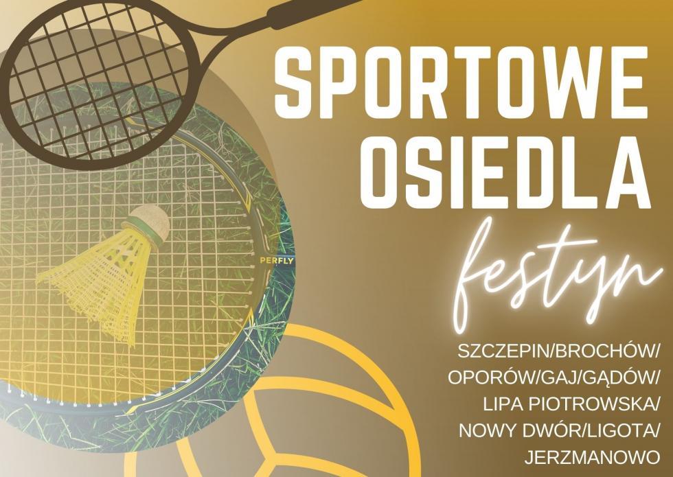 Sportowe osiedla – cykl festynów rekreacyjnych dla mieszkańców Wrocławia