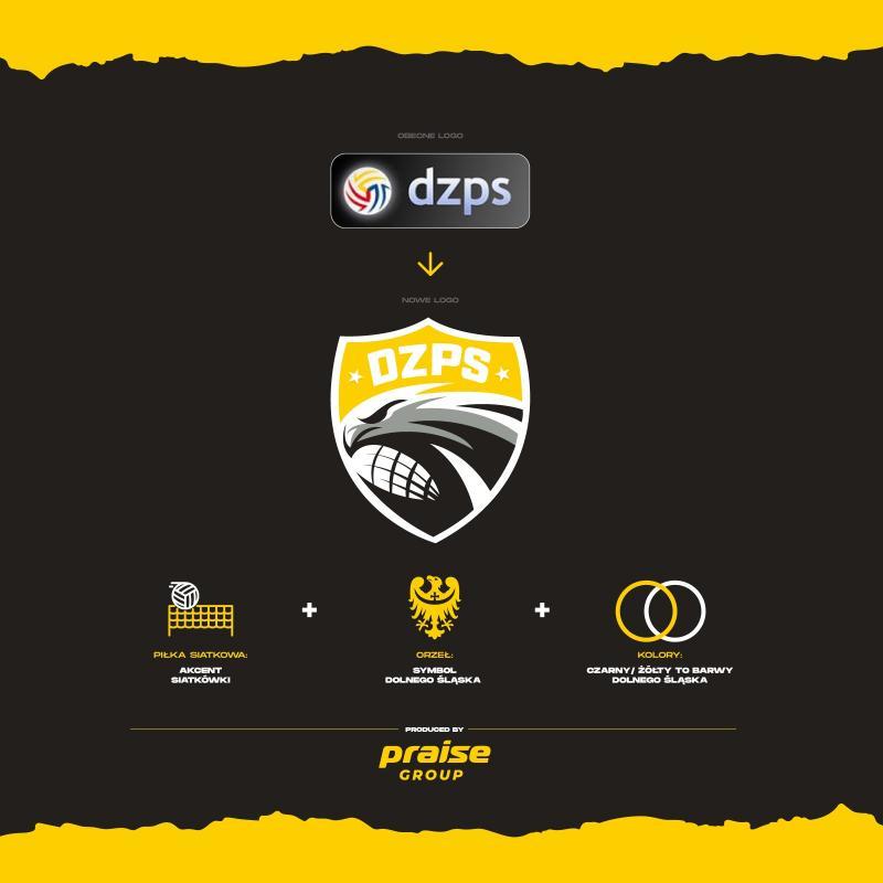 Nowe logo Dolnośląskiego Związku Piłki Siatkowej
