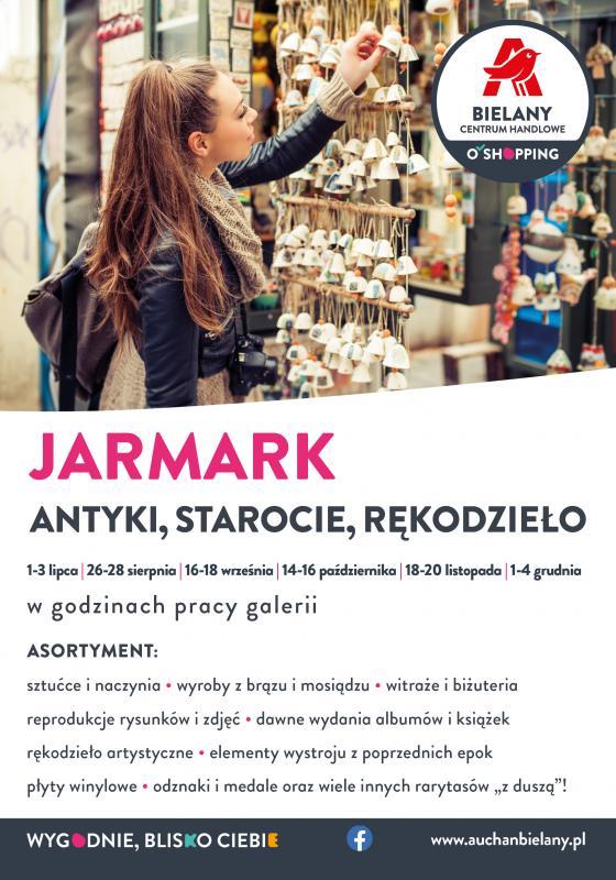 Jarmark rękodzieła, płyt winylowych istaroci po raz kolejny wBielanach Wrocławskich